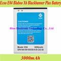 3000mAh Ecoo E04 Bluboo X6 Blackbanner Plus Battery Batterie Bateria AKKU Accumulator PIL Mobile Phone
