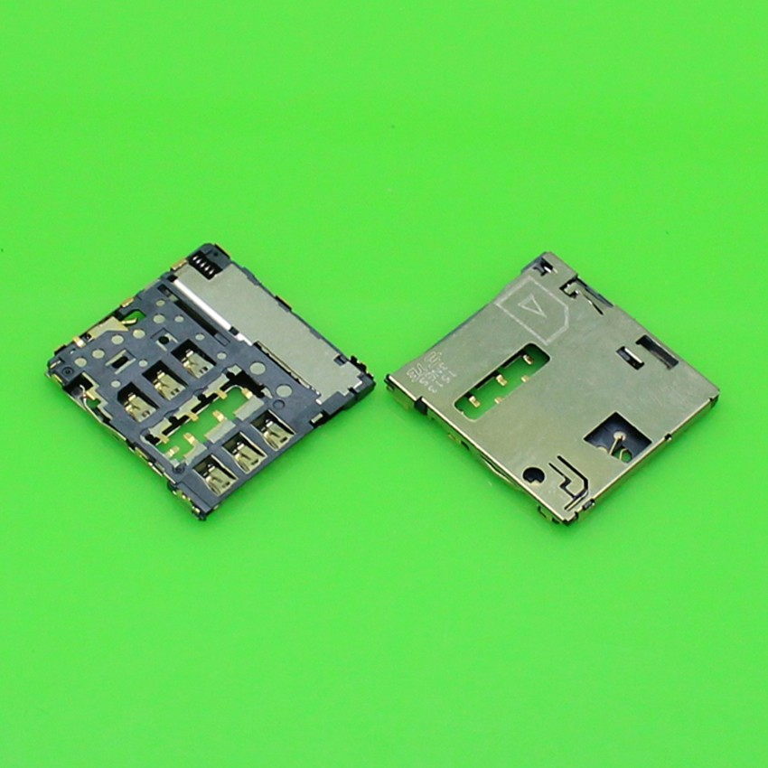 2pcs/lot and new sim card reader connector holder for huawei mate MT1-U06 MT1-T00 ,