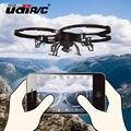 Rc zangão UDI Quadcopter 6-Axis Gyro Helicóptero de Controle Remoto GRANDE um Retorno Chave Wifi FPV HD Camera U818A U919A Atualizado versão