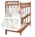 2016 Marca bolsa de Pañales organizador colgando cama de bebé juego de cama de almacenamiento portátil 63*48 cm estilo multy accesorios resistentes al agua
