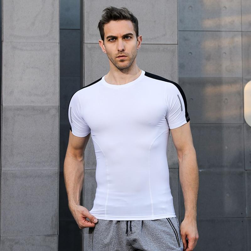 Laufs-t-shirts Geschickt 2019 Sport Männer T-shirt T-shirt Kurzarm Kompression Shirt Gym T-shirt Fitness Männer Der Hemd