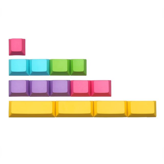 blank cmyk pbt keycap cherry profile 14keys 2u 2.25u 2.75u 1.75u shift