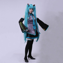 Hatsune Miku Cosplay Costumes Japanese VOCALOID Game anime Comic show music clothes set .Wigs sold separately.