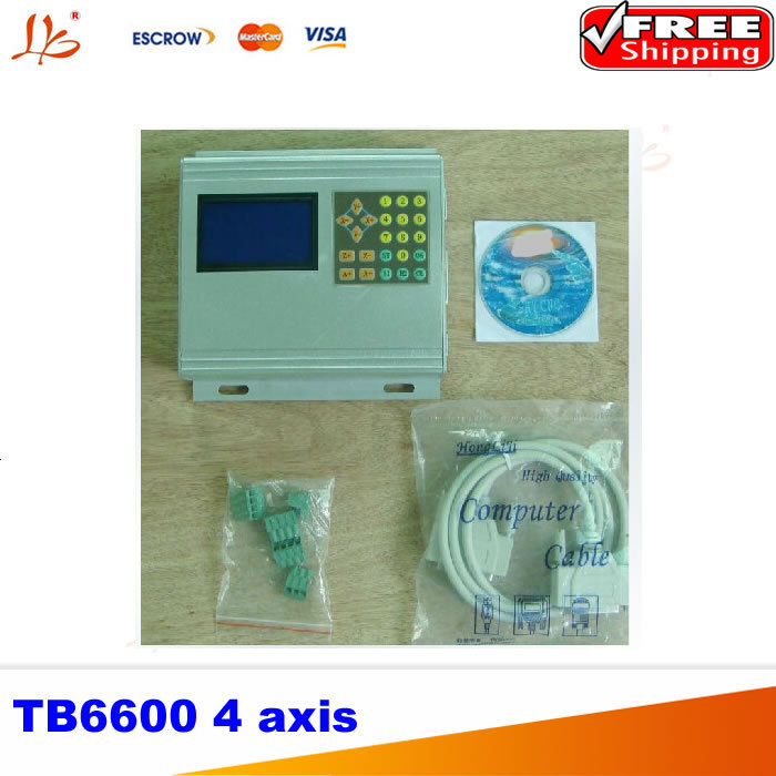 Intelligent 4 Axis Stepper Motor Driver TB6600 intelligent cnc 4 axis tb6600 stepper motor driver board 5a adjustable dc 12 48v power supply sm578 sd
