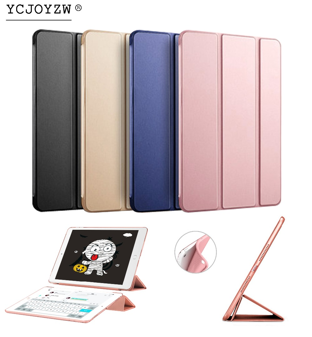 Hot Smart Case Cover For 2013 ipad Air 1 : A1474`A1475`A1476 ,YCJOYZW PU Leather Cover+TPU soft CASE Auto Sleep protective shell nice soft silicone back magnetic smart pu leather case for apple 2017 ipad air 1 cover new slim thin flip tpu protective case