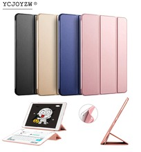 Hot Smart Case Cover For 2013 ipad Air 1 : A1474`A1475`A1476 ,YCJOYZW PU Leather Cover+TPU soft CASE Auto Sleep protective shell