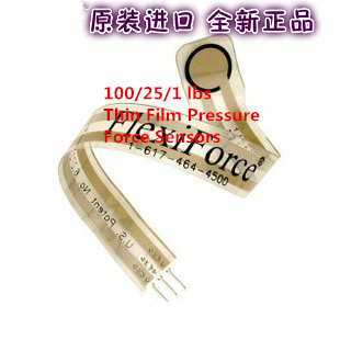 Fast Free Ship 2PCS New and Original for FlexiForce 100/25/1 lbs Thin Film Pressure Force Sensors A201 Pressure Sensor-100lbsFast Free Ship 2PCS New and Original for FlexiForce 100/25/1 lbs Thin Film Pressure Force Sensors A201 Pressure Sensor-100lbs