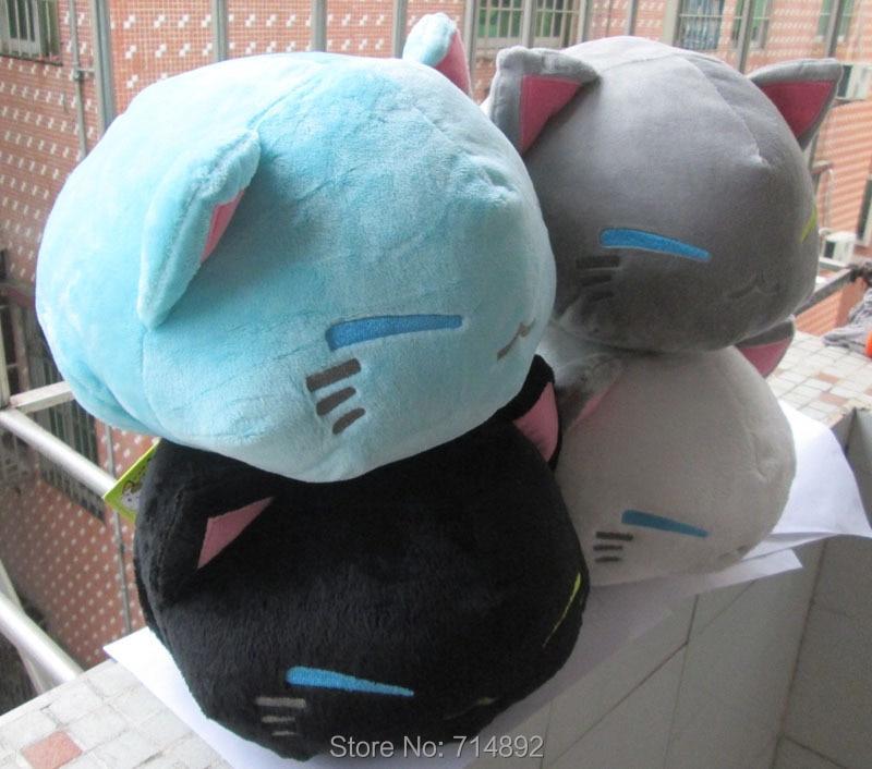 30 pcs lot New Nemuneko cat sleepin plush doll font b cute b font cartoon Sleeping
