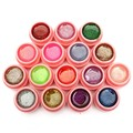 1 Set 16 Pure Color 8ml Nail Art UV Gel Glitter Acrylic Builder Glue Solid Extension For Salon DIY Manicure Beauty Designs Tools