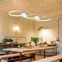 New Designer Modern Led Chandelier Kitchen Living Dinging Room Light Fixtures LED Hanging Led Chandelier Lamp