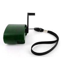 USB 5V Выход Быстрая зарядка портативный телефон аварийное зарядное устройство мощность Спорт на открытом воздухе Кривошип зарядное устройс...