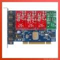 Tdm400p 4 разъём(ов) с 3FXO и 1FXS модули звездочка карты для VoIP IP атс