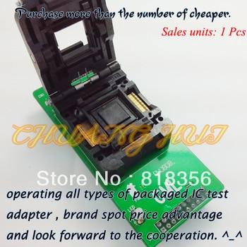GA-TQFP128-04 Programmer Adapter IC51-1284-1788 QFP128/TQFP128 Adapter IC Test Socket/IC Socket 100% new ic51 0162 sop16 ic test socket programmer adapter burn in socket ic51 0162 271