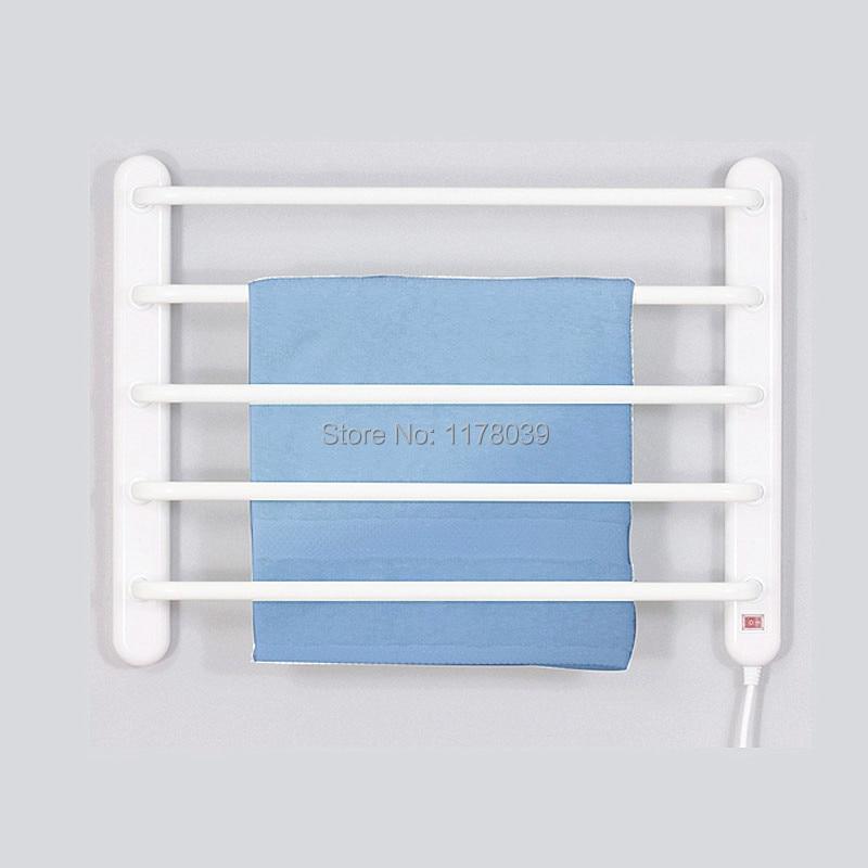 ac220240v 90w white heated towel rackwall mounted towel heated