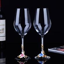 Бессвинцовый хрустальный бокал для вина высокое качество красное вино бокал большой емкости кубок для шампанского стеклянный свадебный подарок домашняя посуда для напитков