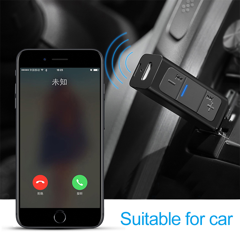 Tragbares Audio & Video Funkadapter Drahtlose Bluetooth Empfänger Bluetooth Aux Empfänger Für Auto 3,5mm Jack Kopfhörer Adapter Musik Empfänger Bluetooth 4,2 Stecker Kaufen Sie Immer Gut