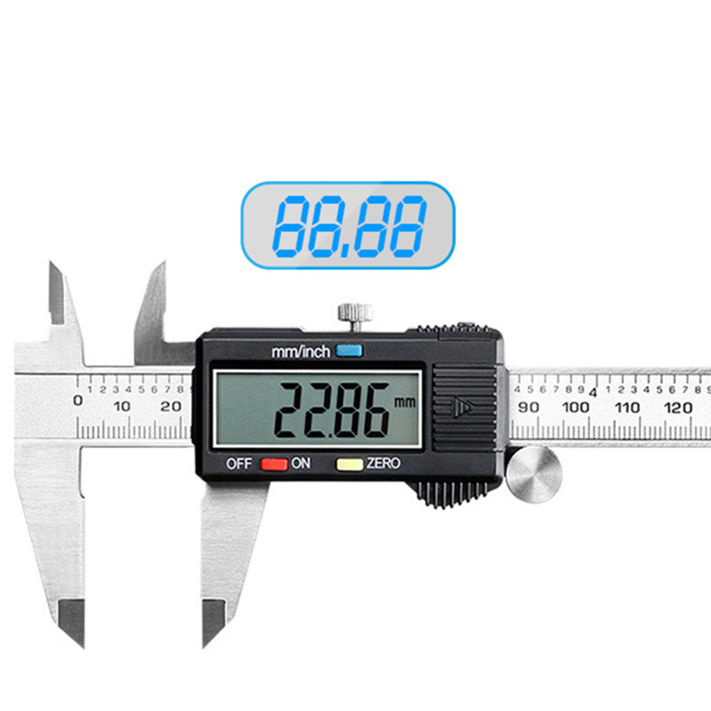 Onnfang Digital Vernier Caliper Pachymeter Guage Stainless Steel