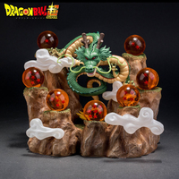 Hot Anime Dragon Ball Z Summon The Dragon 25cm Action Figures Anime Game Toy Hardened Edition