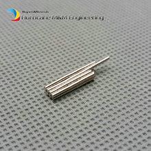 "Фотография 100pcs NdFeB Micro Magnet Disc Dia 1x1 mm 0.039"" Precision Magnet Neodymium Magnets Sensor Rare Earth Tinny Magnets NiCuNi"