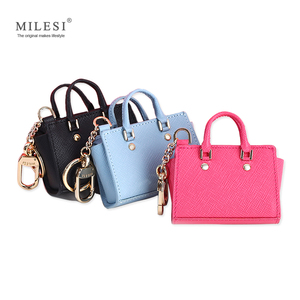 Image 1 - Milesi Womens Good Taste Mini Wings Bags Keychain for Handbags Change Purse Cute Miniature Handbag for Smart Doll MP372