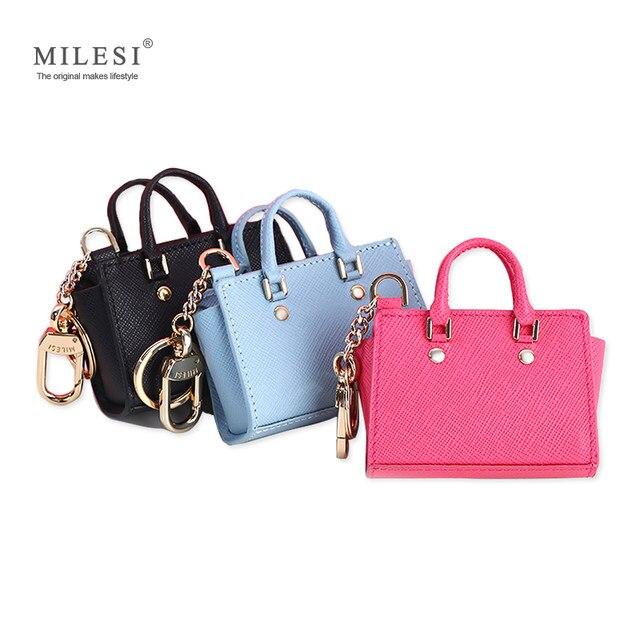 Milesi Women S Good Taste Mini Wings Bags Keychain For Handbags Change Purse Cute Miniature Handbag Smart Doll Mp372