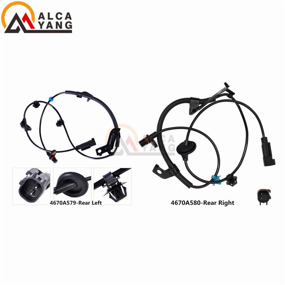 Rear Right Left ABS Wheel Speed Sensor 4670A580 4670A579