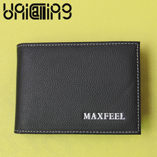 Cow Leather drivers license card holder Top grade Fashion credit solid color Genuine men id