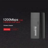 Gigabit Wireless Wifi Adapter 1200mbps 11AC 802 11ac Dual Band Usb 3 0 Port Wireless Network
