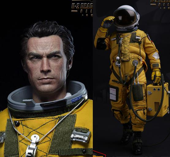 1/6 scale Super flexible military figure U-2 DRAGON LADY Reconnaissance PILOT 12 action figure doll Collectible model toy thyssen parts leveling sensor yg 39g1k door zone switch leveling photoelectric sensors