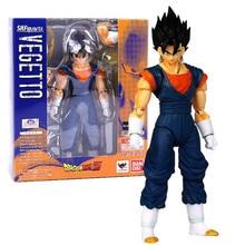 1Pcs 17Cm Dragon Ball Z Super Saiyan Gogeta Joint Movable Pvc Anime Model Children Collectible Action Figure Toys Boy Gift DBZ