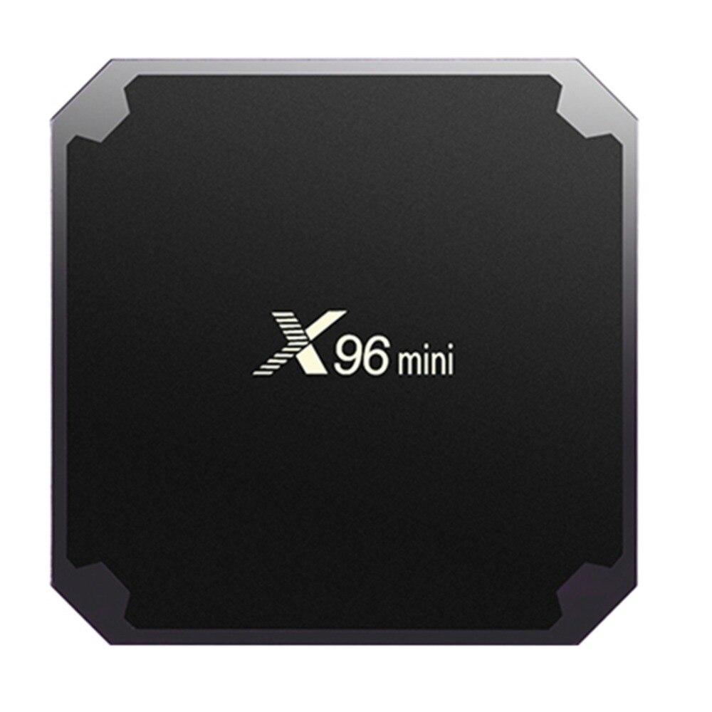 X96 mini Android 7.1 Smart TV BOX 2 gb 16 gb 1 gb 8 gb Amlogic S905W Quad Core Unterstützung 4 karat 2,4 ghz WiFi X96mini Set top box IR Kabel
