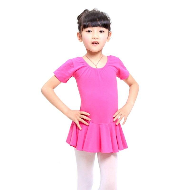 kid-girls-short-sleeve-leotard-gymnastics-font-b-ballet-b-font-dance-dress-dancewear-for-4-12y-girl