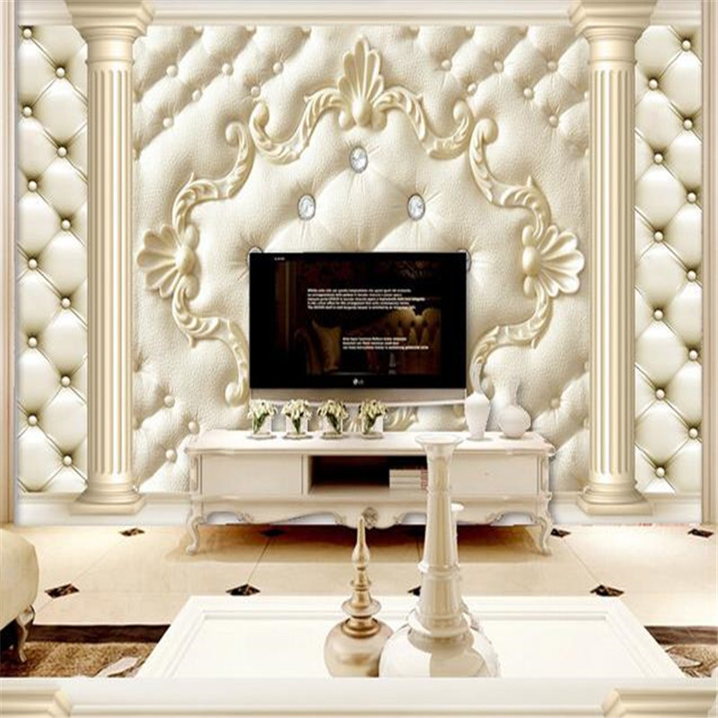 Custom Photo Wallpapers 3D Stereoscopic Wall Murals Pattern Modern Wall Papers for Walls 3D for Living Room Home Decor Flowers custom photo size wallpapers 3d murals for living room tv home decor walls papers nature landscape painting non woven wallpapers