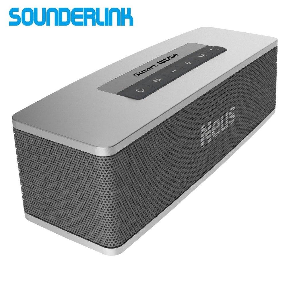 Sounderlink Neusound Neus Smart QQ200 20 W HiFi Ad Alta potenza mini portatile outdoor wireless bassi profondi altoparlante Bluetooth TWS