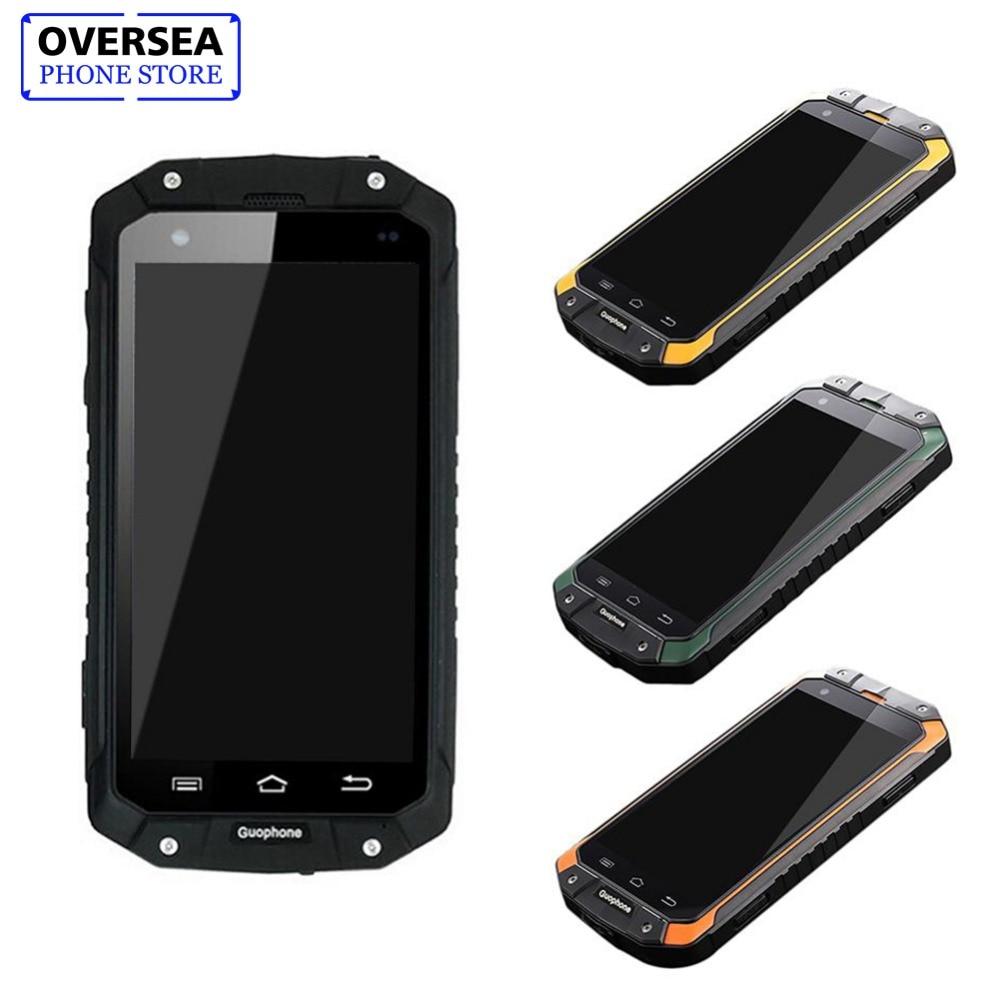 Guophone V9 1 gb + 8 gb IP68 Étanche Antichoc Téléphone MTK6580 Quad Core Smartphone GPS 3g 8MP Android téléphone intelligent Téléphone