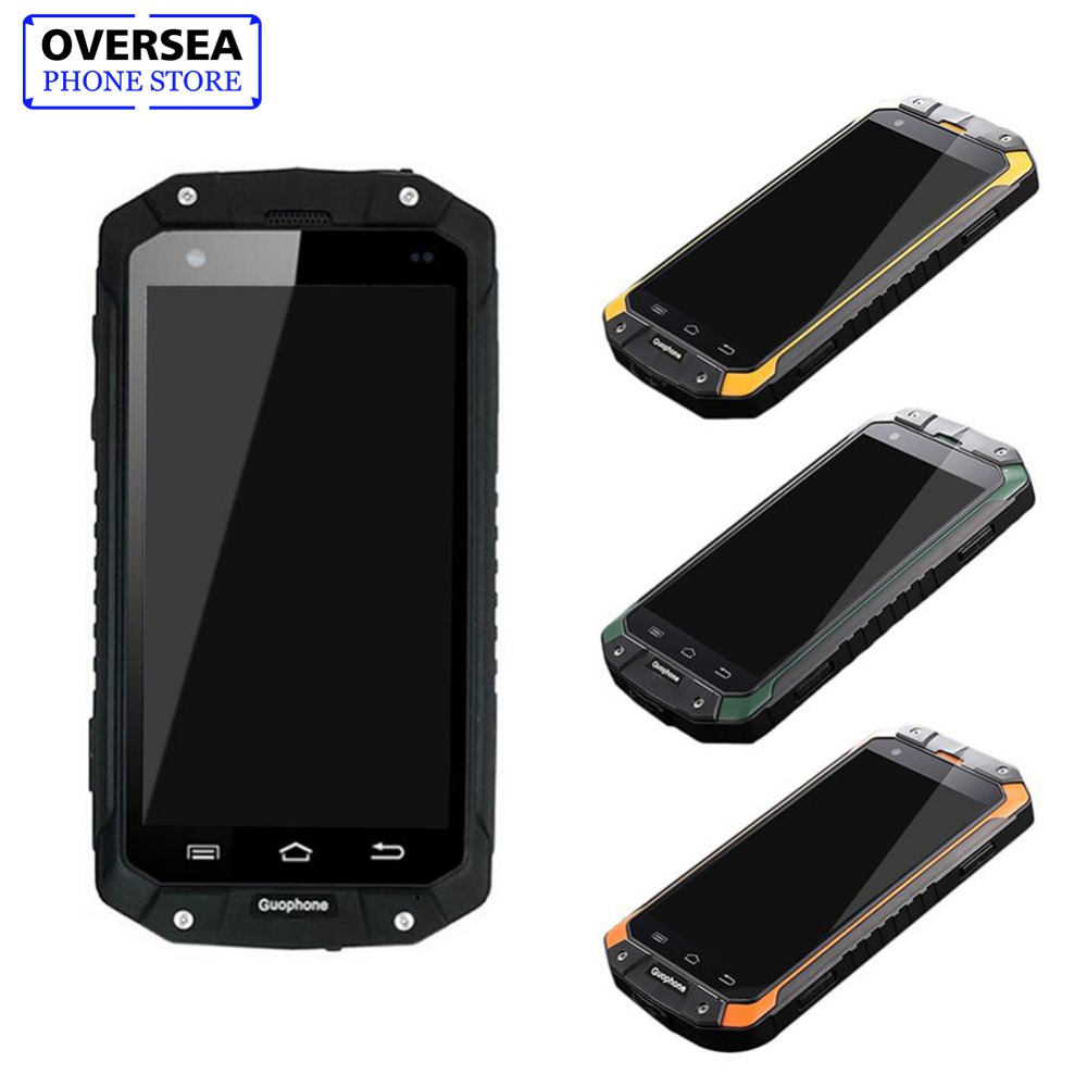 Guophone V9 1 GB + 8 GB IP68 impermeable a prueba de golpes a prueba teléfono MTK6580 Quad Core Smartphone GPS 3G 8MP Android teléfono Inteligente teléfono