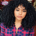 Mongolian Virgin Hair Afro Kinky Curly 3 Pieces/lot Mongolian Afro Kinky Human Hair 7A Grade Afro Kinky Curly Hair Weave Bundles