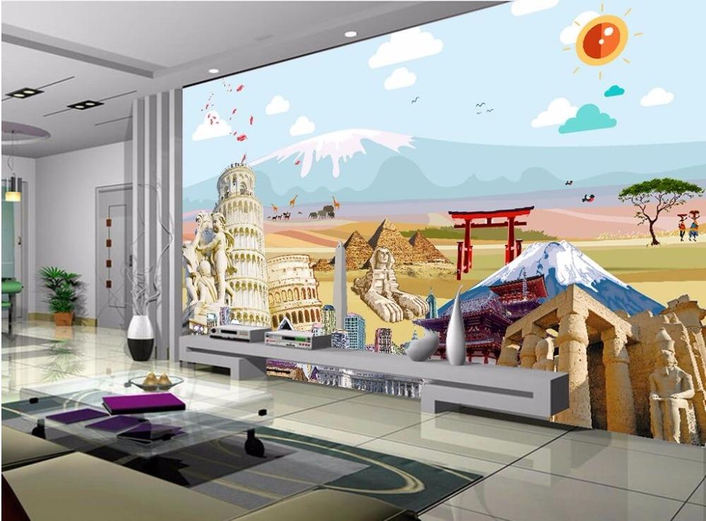 WDBH Custom Photo 3d Wallpaper World Famous Tourist
