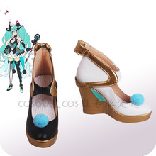 Anime shoe 2019 Miku circus Magic future VOCALOID Cosplay shoes women platform shoe A цены онлайн