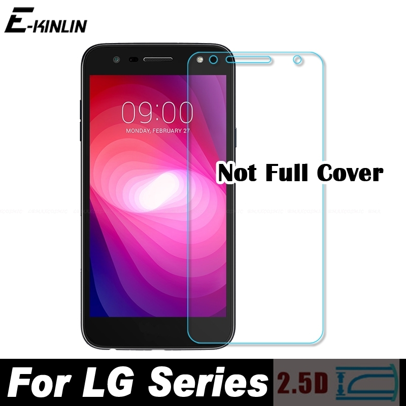 0.3mm 2.5D Tempered Glass Screen Protector For LG X Power 3 2 Stylo 4 Q Stylus Plus X5 2018 Protective Glass Film