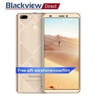 Blackview S6 Mobile phone 4G 5.7 HD+18:9 full screen 2G+16G 4180mah Dual Rear Cams 8MP MTK6737 Quad core Android 7.0 Smartphone
