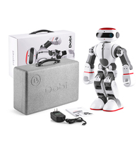 2017 WLtoys F8 Dobi Intelligent Humanoid Robot Voice Control RC Robot with Dance/Paint/Yoga/Tell Stories RC Toy Model on Sales