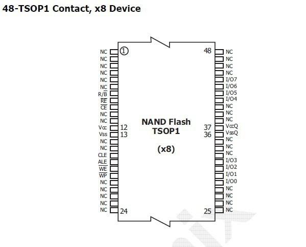 Integrated Circuits (ICs) IC FLASH 32GBIT H27UBG8T2BTR BC
