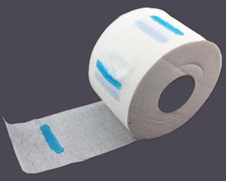 Салон Парикмахерская комод для волос Professional рулон бумаги для шеи резка туалетный 1 рулон