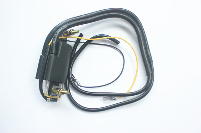 12v Ignition Coil Points Twin Lead 2 Wires For Honda GL 1000 CB 200