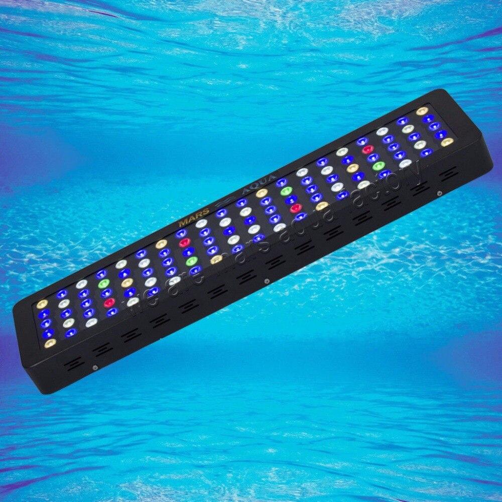 MarsAqua Dimmable 300 W lumière led d'aquarium Spectre Complet Récif de Corail Marin