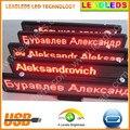 DC9V12v-30 v/AC110V 220 V Vermelho Loja, publicidade Carro LEVOU Rolagem Placa de Exposição Programável Recarregável suporte todas as línguas