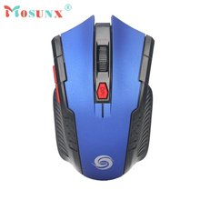 2.4GHz Mini Wireless USB Optical Gaming Mouse Top Quality 2000DPI 6 Butttons Adjustable Mice For Laptop PC Rato 17Aug2 LOL OW