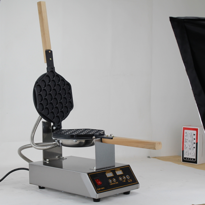 China egg waffle making machine