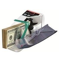 ミニハンディビル現金紙幣カウンターマネー通貨計数機 AC またはバッテリ駆動マネーカウンター/検出器ストア